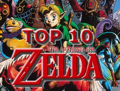 Top 10 The Legend of Zelda Games